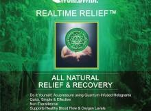 Ologrammi contro il dolore Realtime Relief OXOww